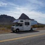 Camping car road trip