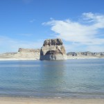 Lake Powell rocher