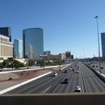 Las Vegas arrivée