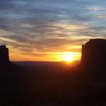 Monument Valley lever de soleil