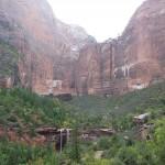 Zion Park cascades