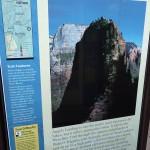 Zion Park détail randonnée Angels Landing